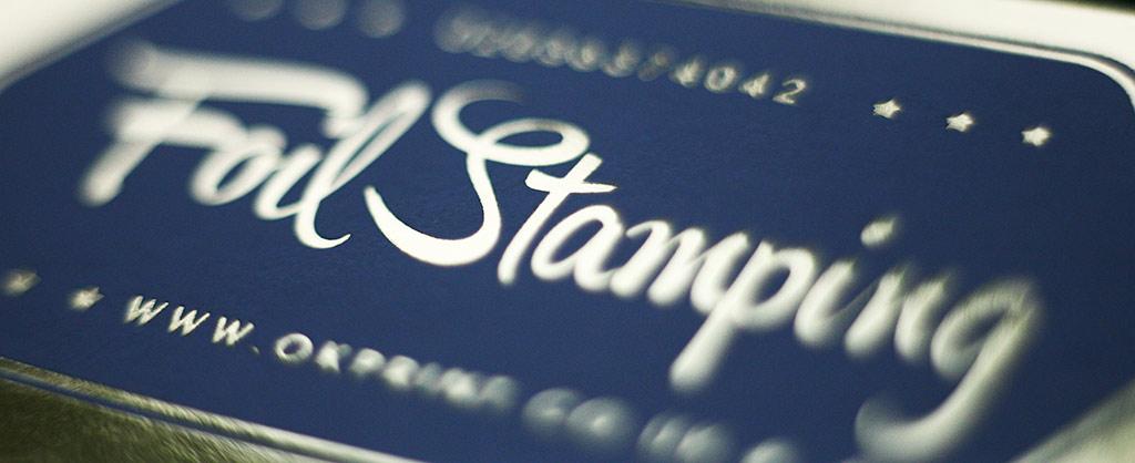 Foil stamping London