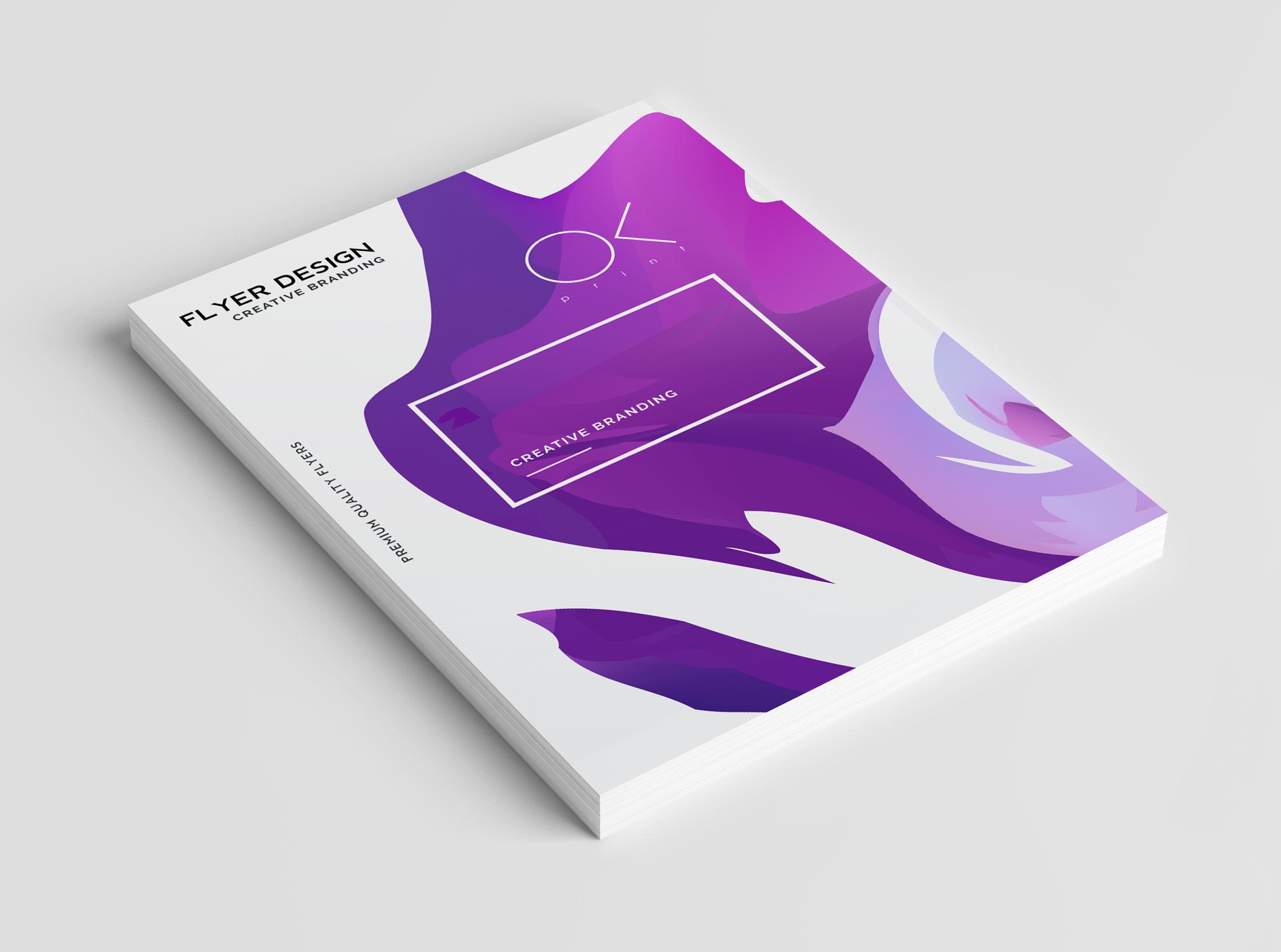 Order flyer design