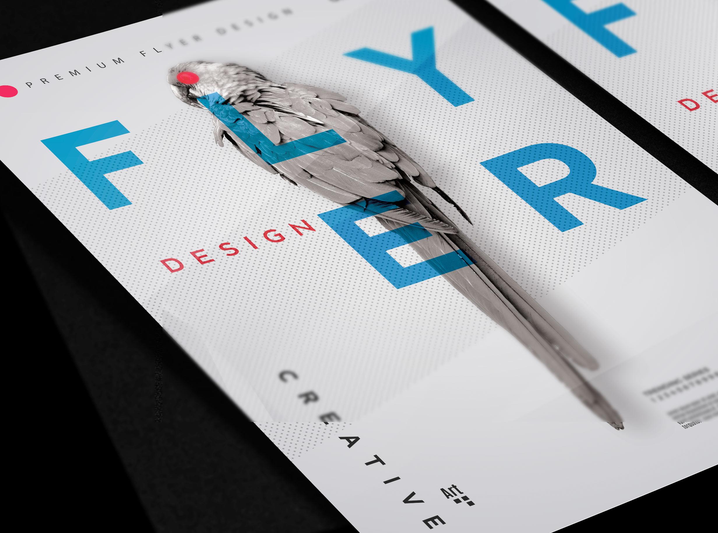 Order flyer design United Kingdom