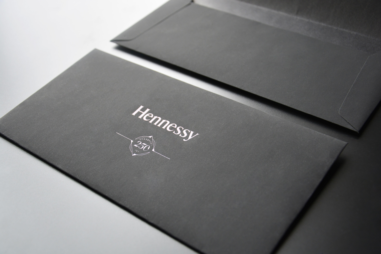 Premium black envelopes