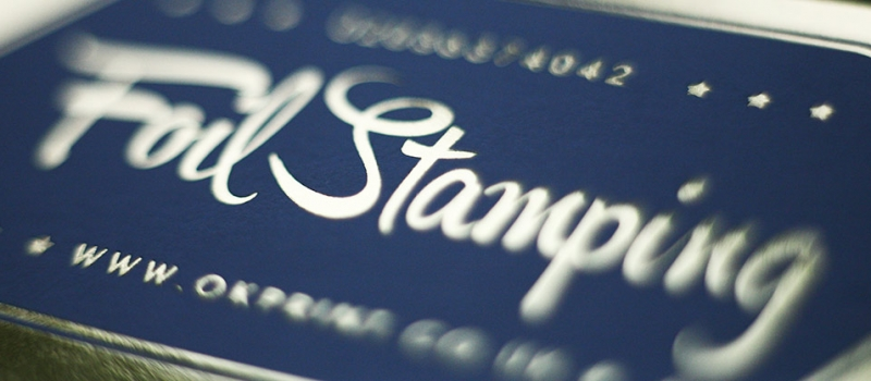 Foil stamping London